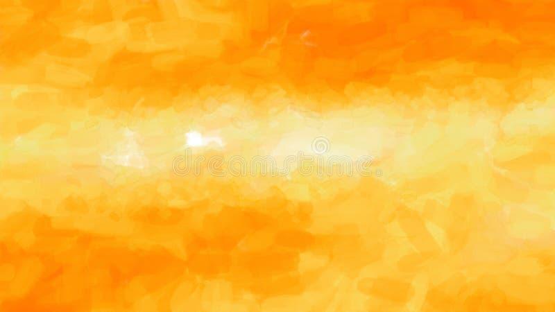 Orange Yellow Sky Background Beautiful elegant Illustration graphic art design Background. Image stock illustration