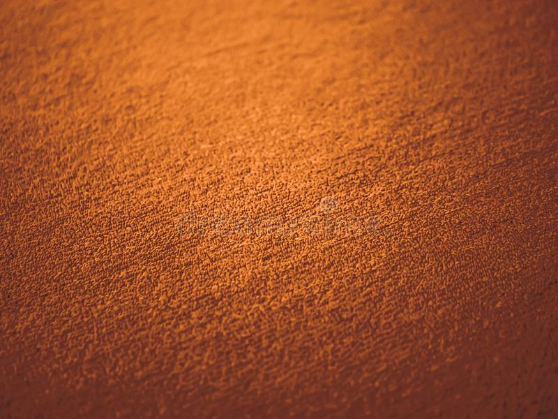 Orangefarbener Teppichboden, brauner Teppichboden, elegante, altmodische Teppiche lizenzfreies stockfoto
