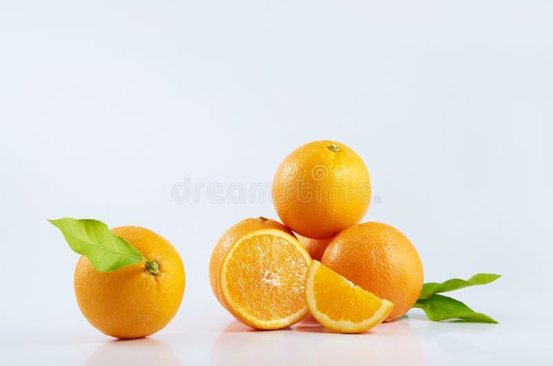 Orangen stockbild