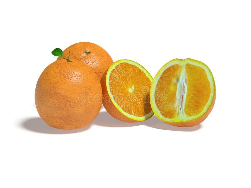 Download Orangen stock abbildung. Illustration von zitrusfrucht - 9091981