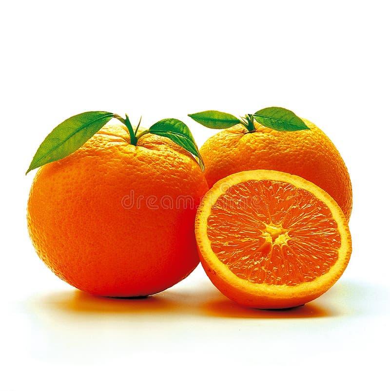 Orangen. stockfotos