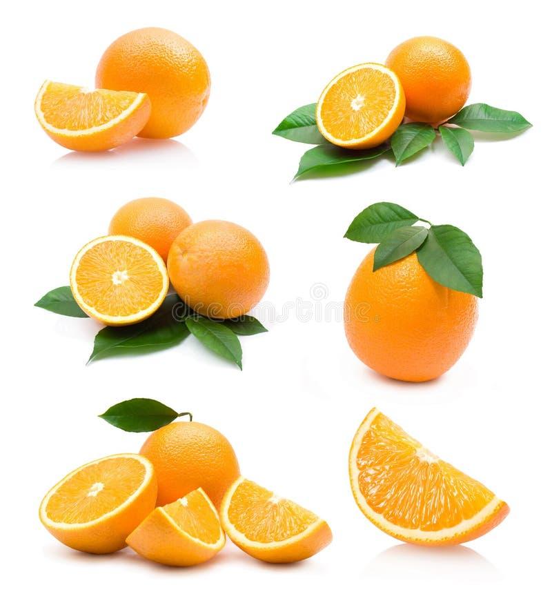 Orangenansammlung lizenzfreies stockfoto