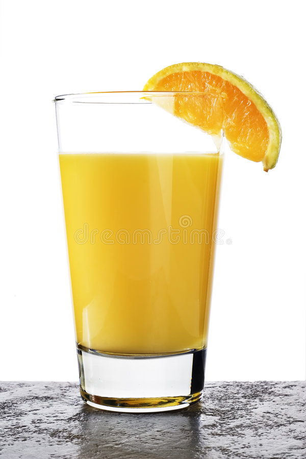 Orangensaft stockfotos