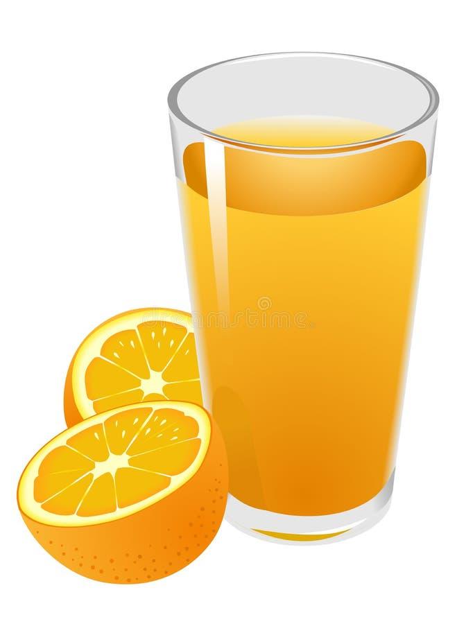 Orangensaft lizenzfreie abbildung