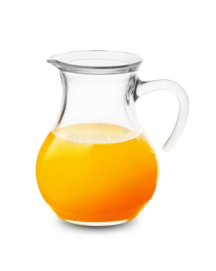Orangensaft im Krug stockbild. Bild von farben, saft - 78217997