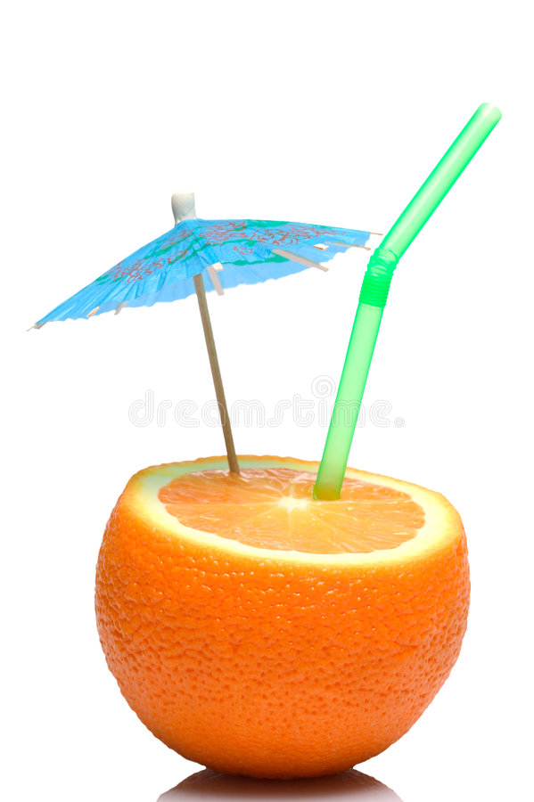 Orangensaftcocktail lizenzfreie stockbilder