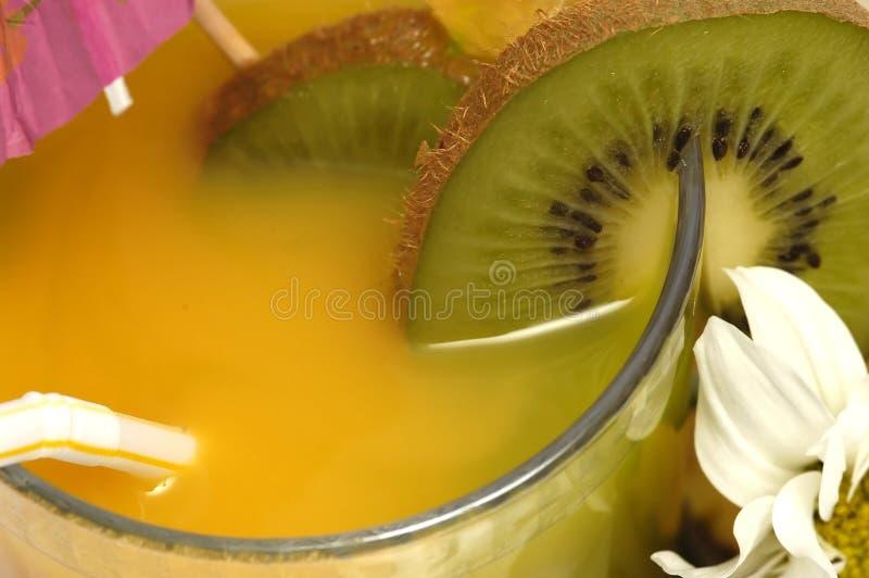 Orangensaftgetränk stockbild