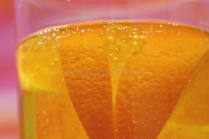 Orangensaftgetränk lizenzfreies stockfoto