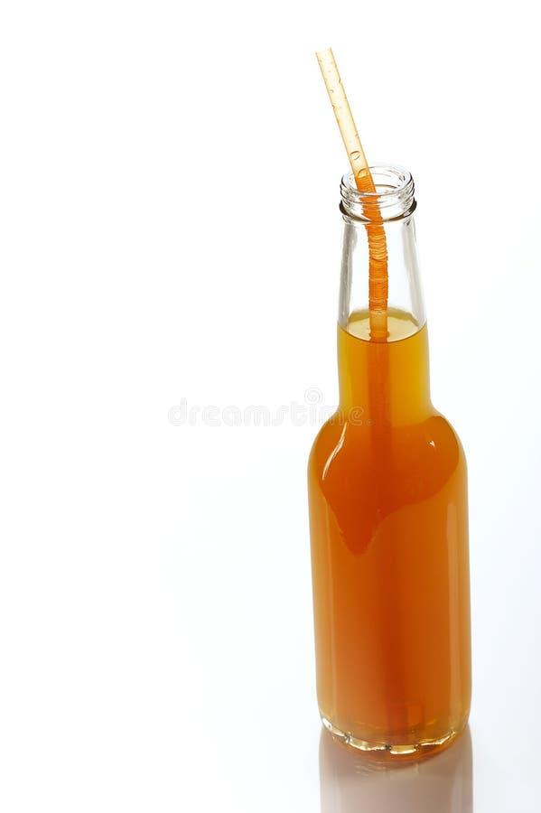 Orangensaftgetränk stockbilder