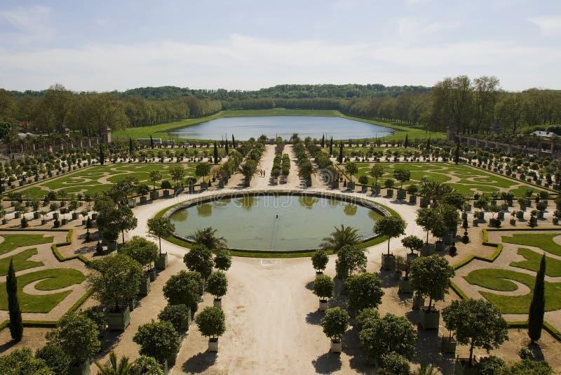 orangeria Βερσαλλίες στοκ φωτογραφίες