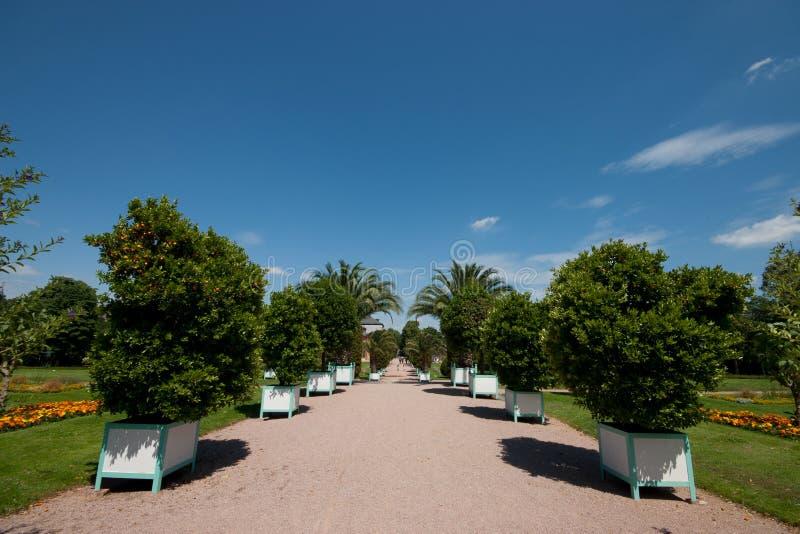 Orangerie达姆施塔特 免版税库存图片