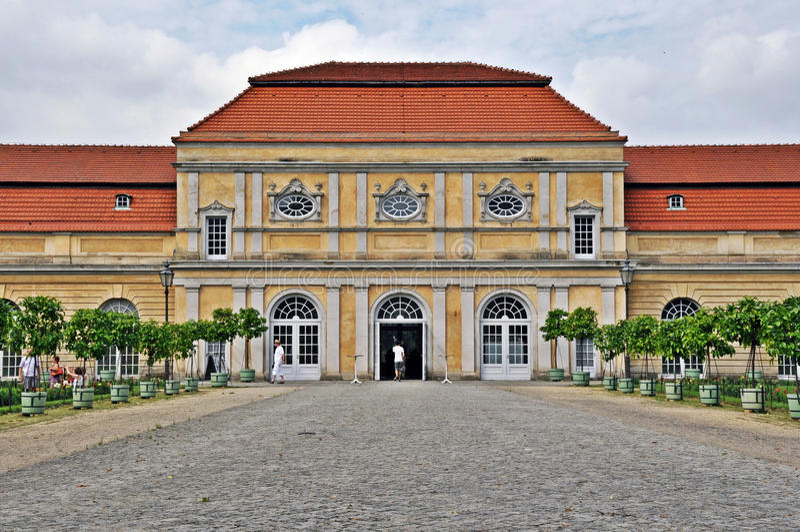 Orangerie-Charlottenburg imagenes de archivo