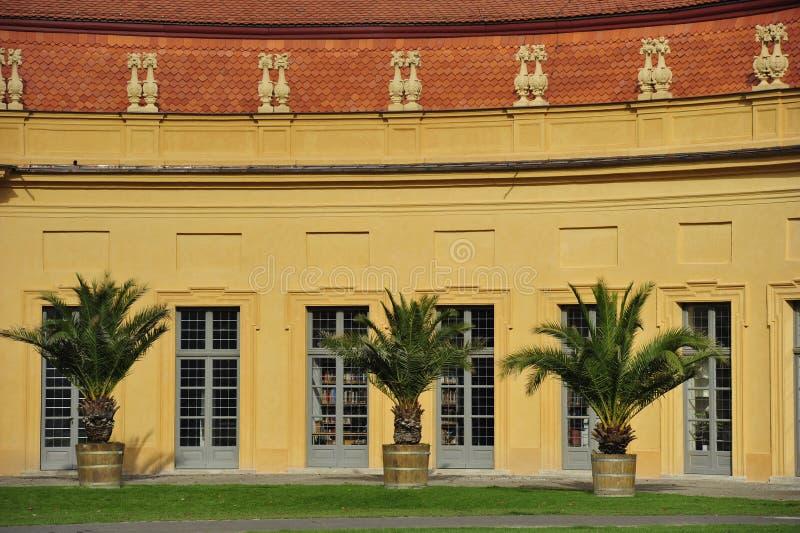 Orangerie dans Erlangen photographie stock