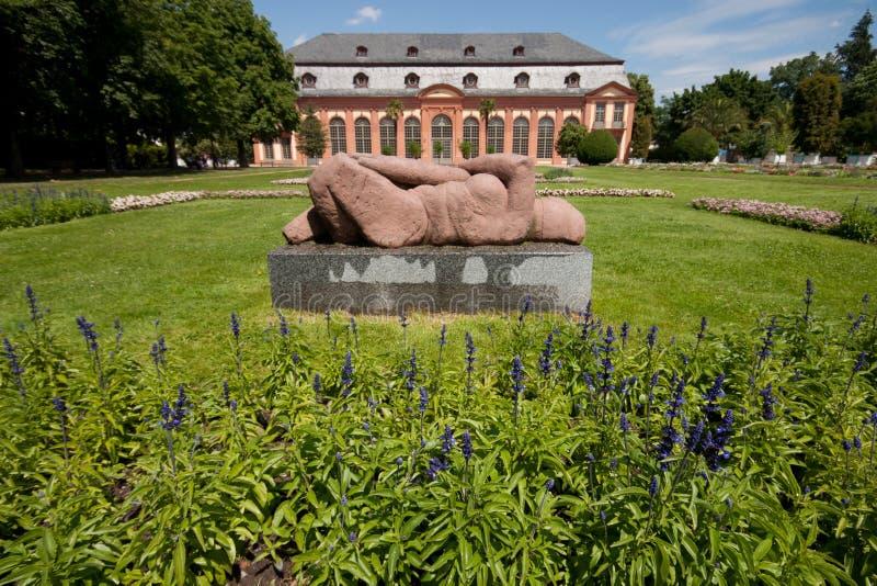 Orangerie Darmstad fotos de archivo