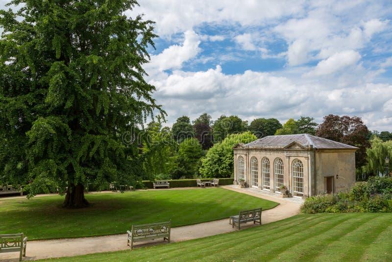 Orangerie de château de Sherborne image libre de droits