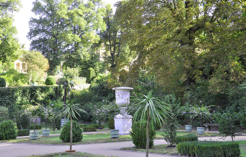 Orangerie garden from Sanssouci in Potsdam,Germany royalty free stock images