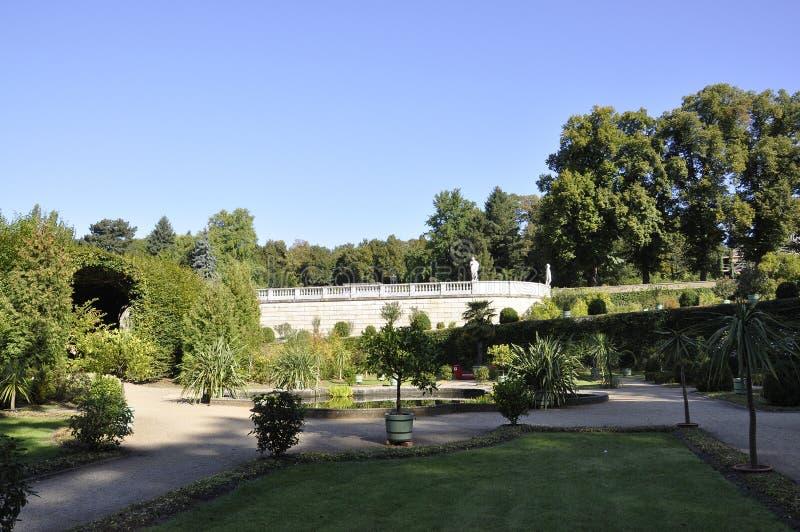 Orangerie garden from Sanssouci in Potsdam,Germany stock image