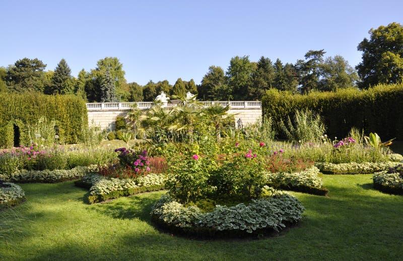 Orangerie garden from Sanssouci in Potsdam,Germany stock photography
