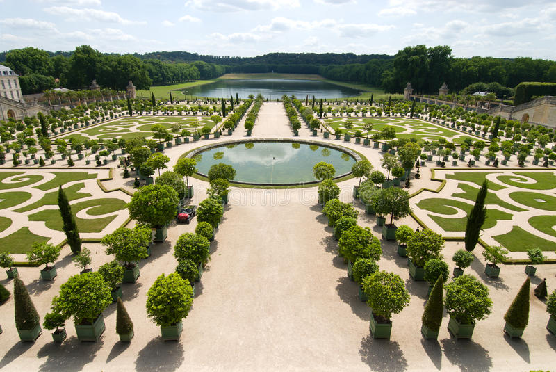 Download The Orangerie Of Versailles Stock Photo - Image: 18605316