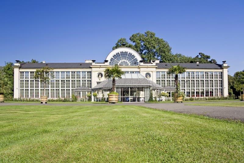 Orangery velho. foto de stock royalty free