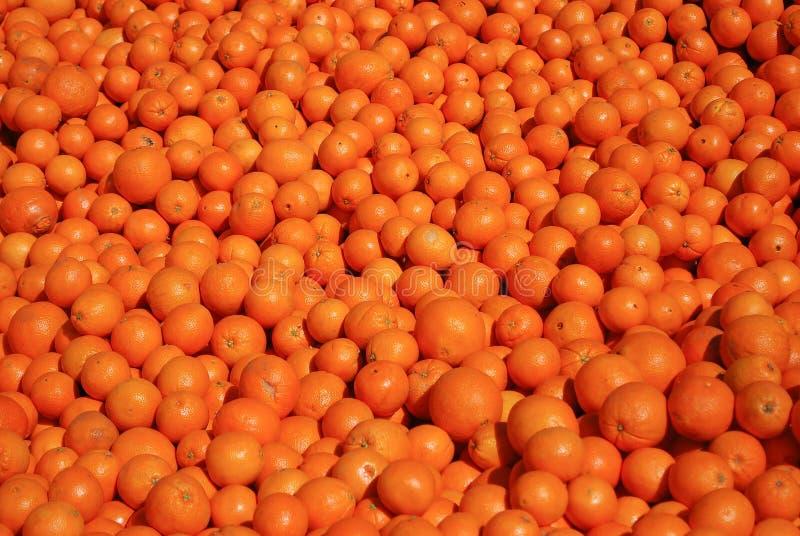 Oranges. Tasty oranges on Morocco street market royalty free stock photo