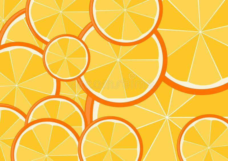 Download Oranges stock vector. Image of crop, closeup, green, meal - 24660995