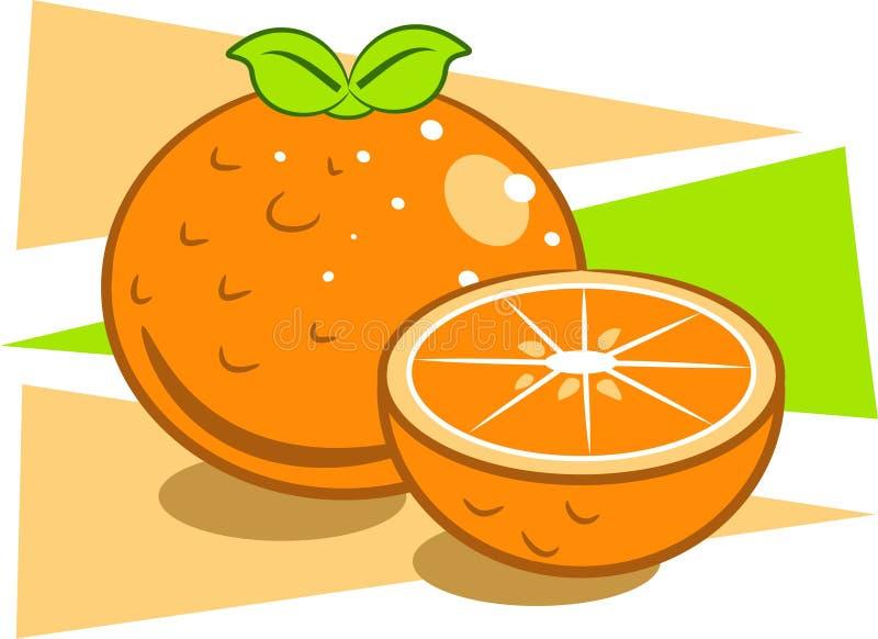 Oranges illustration libre de droits