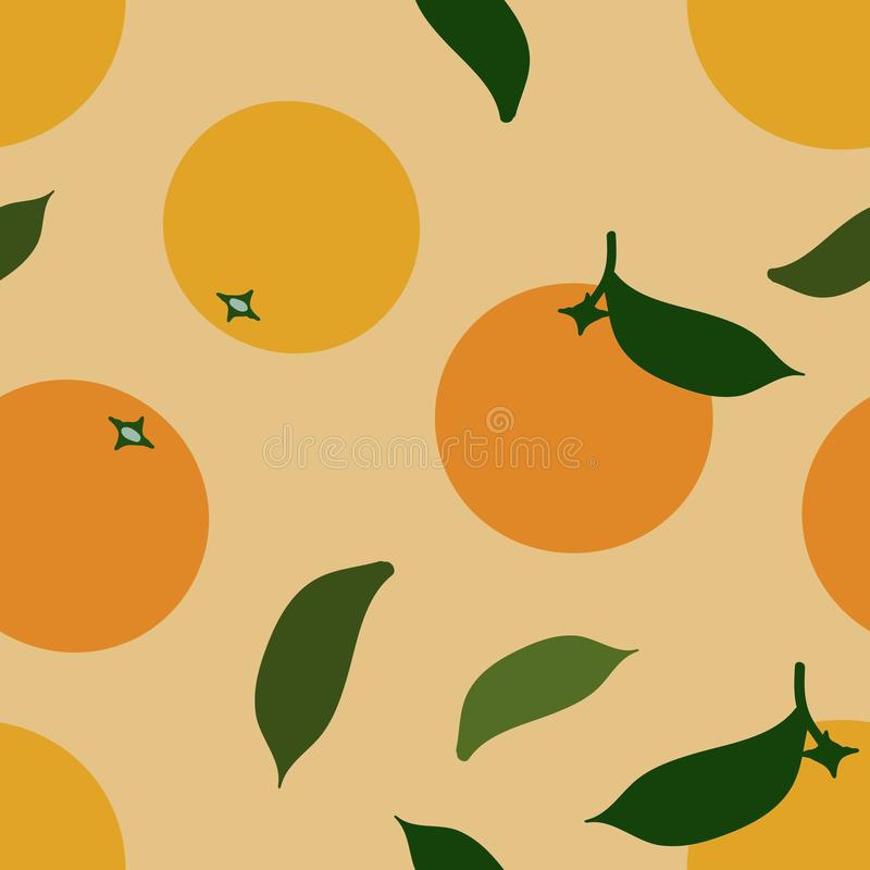 Oranges background stock image