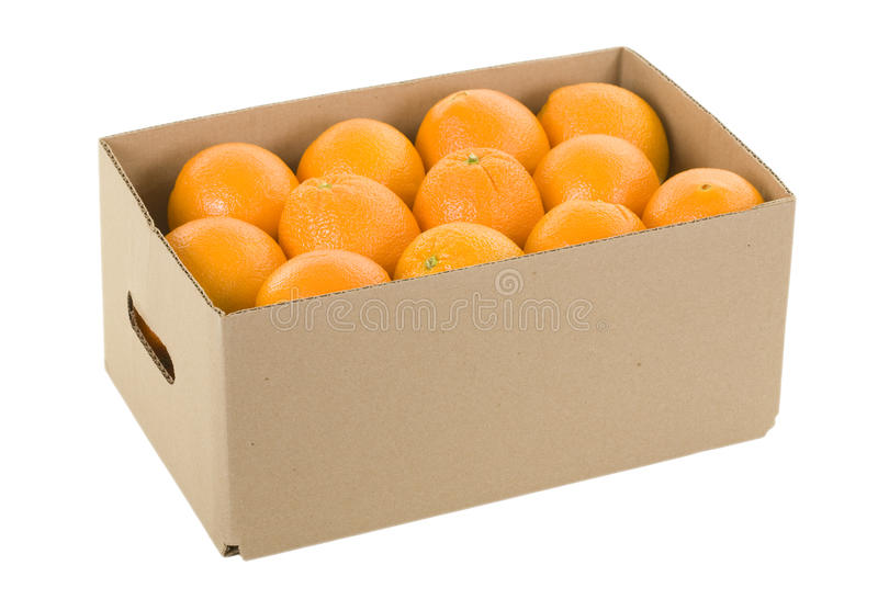 Download Oranges in Box stock photo. Image of oranges, clipping - 12830328