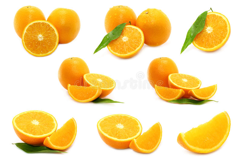 Download Oranges collage stock photo. Image of juicy, color, glossy - 24351608