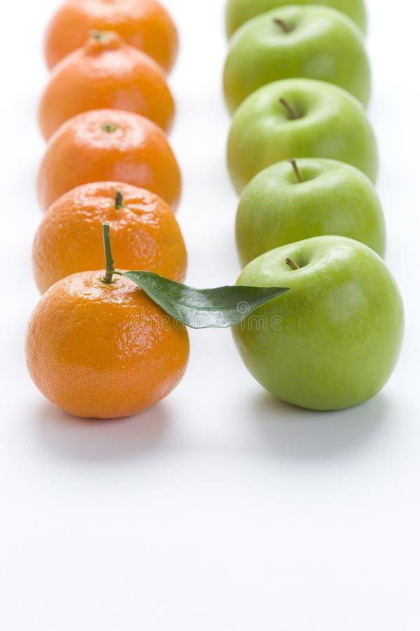 Oranges de clémentine images stock
