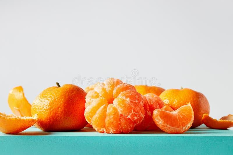 Oranges de mandarines fraîches photo libre de droits