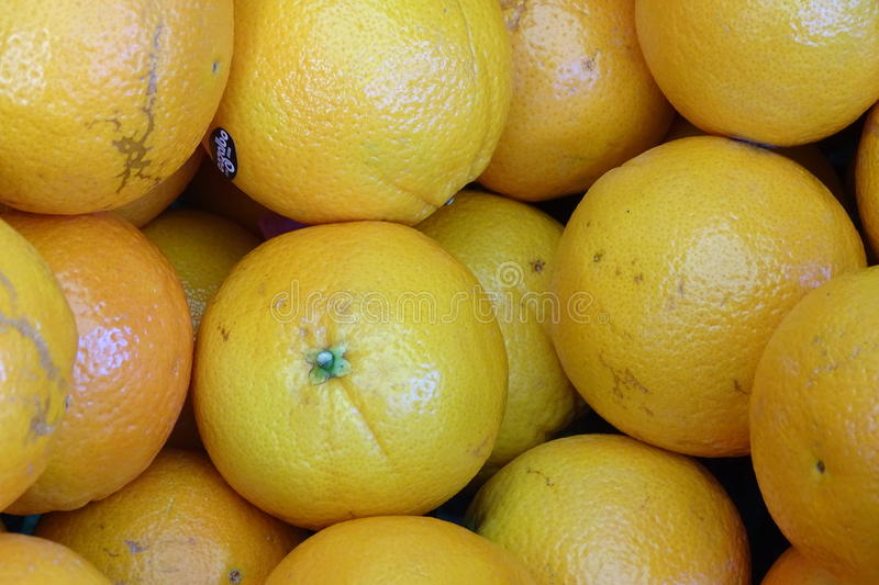 Oranges in detail as a background royalty free stock photo