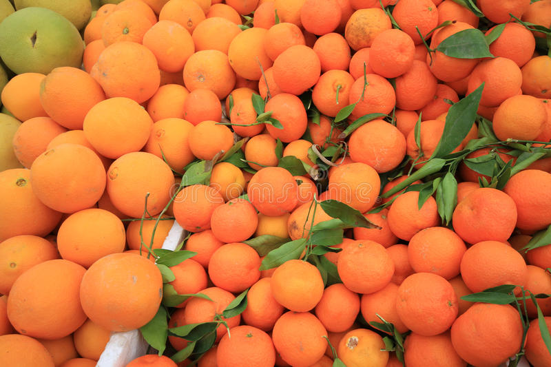 Oranges on the food market for background,Cameron Highlands Malaysia royalty free stock photos