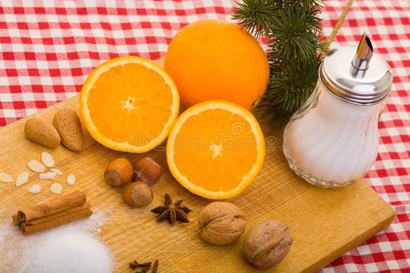 Download Oranges and other baking stock photo. Image of still - 23949982