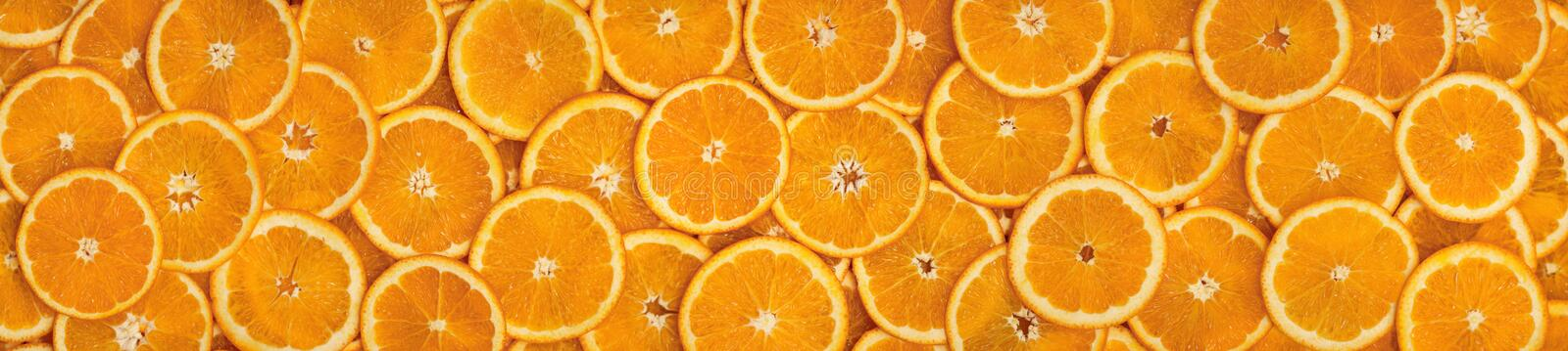 Oranges-panorama. Panorama comprised of multiple photos stock photos