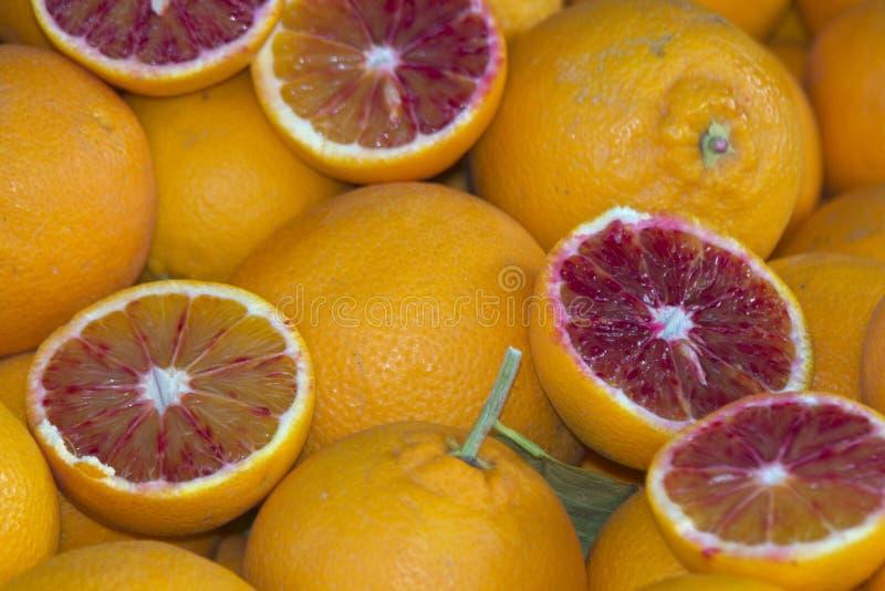 Oranges siciliennes image stock