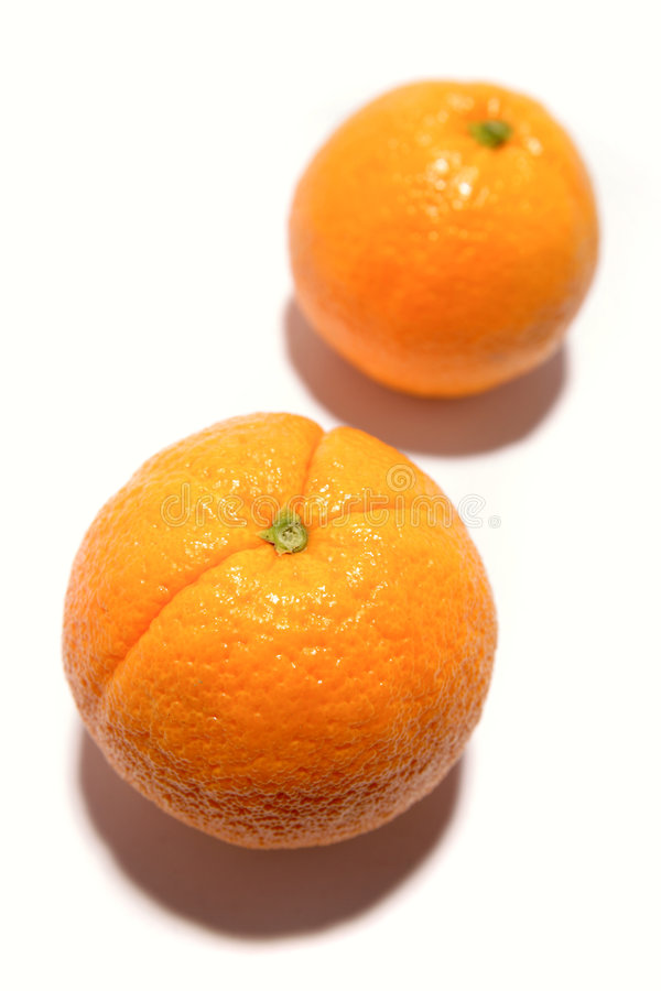 Oranges Side By Side Royalty Free Stock Photography