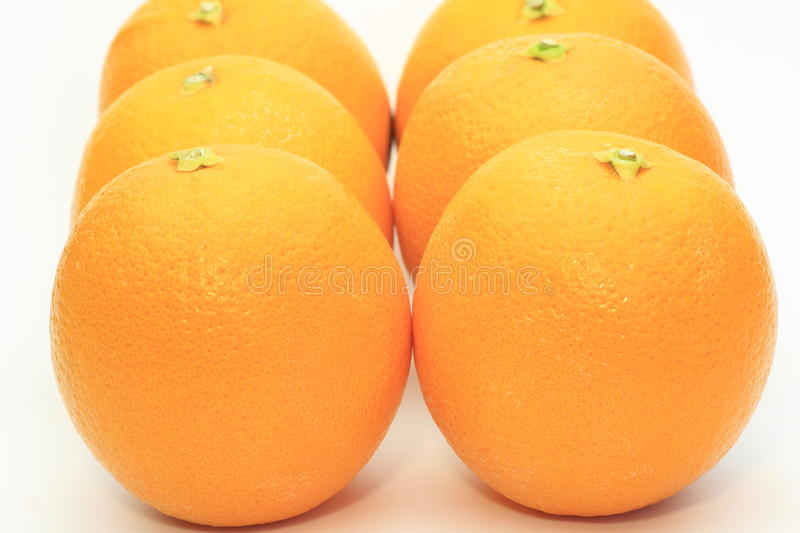 Download Oranges In A White Background Stock Image - Image of ripe, citrus: 31908133
