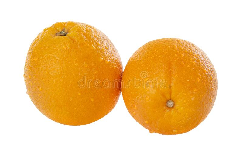 Oranges,whole stock photo