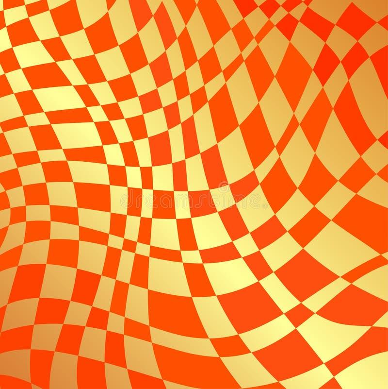 Orangewaves lizenzfreie stockfotografie