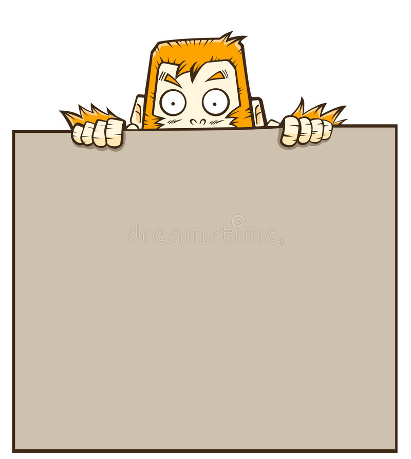 Orangotango ilustração stock