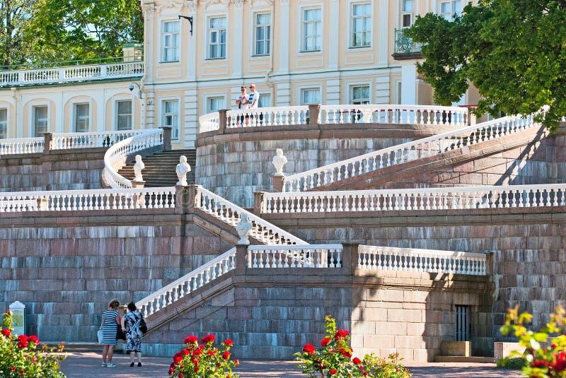 Oranienbaum (Lomonosov) Άγιος-Πετρούπολη Το μεγάλο παλάτι Menshikov στοκ φωτογραφία