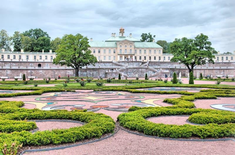 Oranienbaum (Lomonosov) Άγιος-Πετρούπολη Το μεγάλο παλάτι Menshikov στοκ φωτογραφία με δικαίωμα ελεύθερης χρήσης