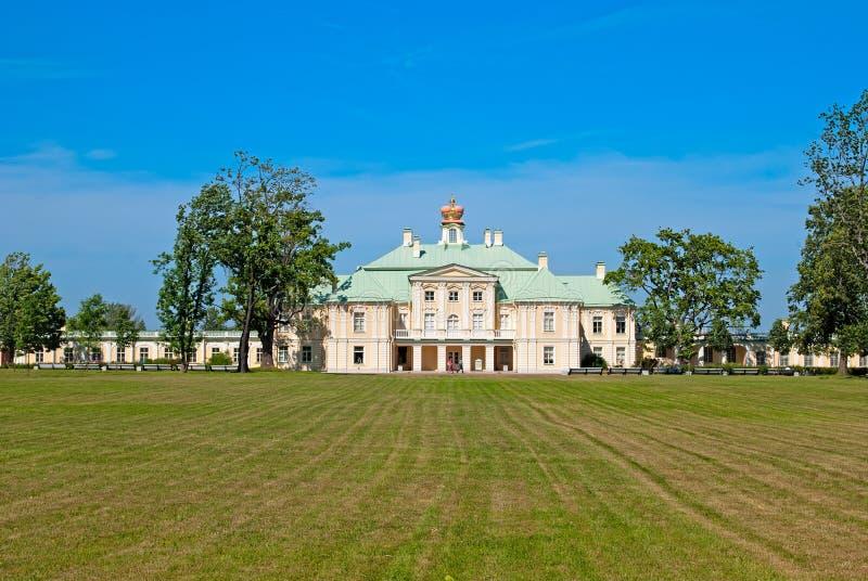 Oranienbaum (Lomonosov) Άγιος-Πετρούπολη Το μεγάλο παλάτι Menshikov στοκ εικόνα