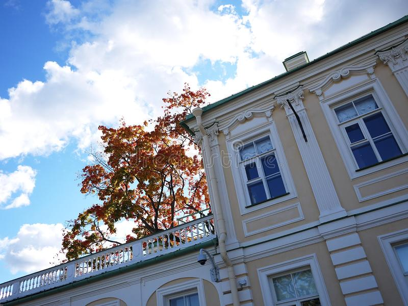 Oranienbaum-Museum-reserve. In this Park, in St. Petersburg there is a beautiful Park and the former Palace of tsars of Imperial R. Oranienbaum-Museum-reserve royalty free stock photos