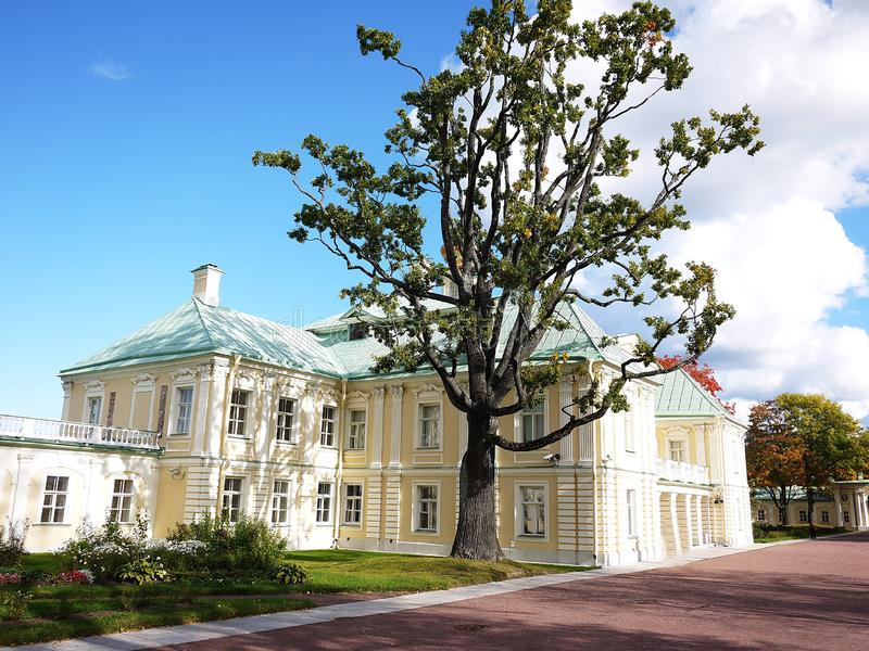 Oranienbaum-Museum-reserve. In this Park, in St. Petersburg there is a beautiful Park and the former Palace of tsars of Imperial R. Oranienbaum-Museum-reserve stock image