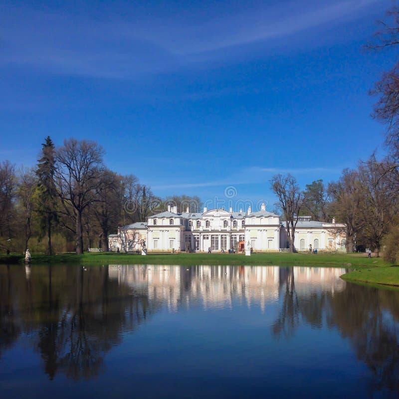 Oranienbaum palace stock image