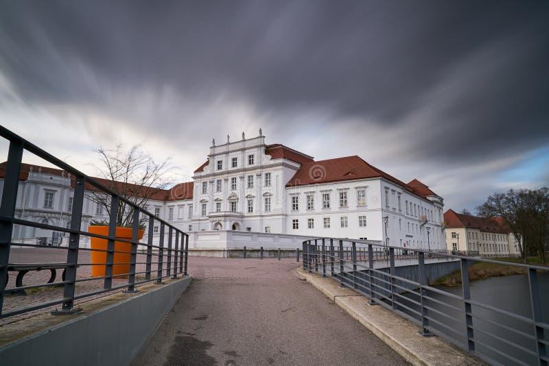 Oranienburg molto a tempo tempestoso fotografia stock libera da diritti
