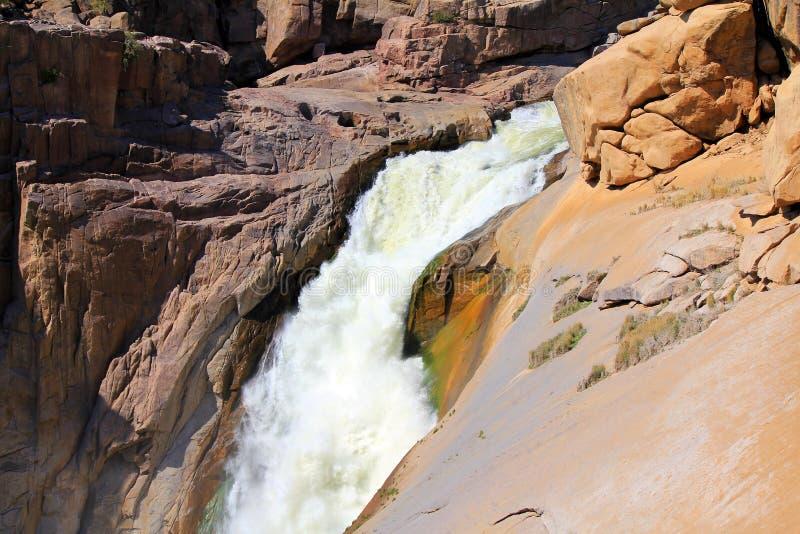 Oranje河峡谷和石头沙漠 免版税库存照片